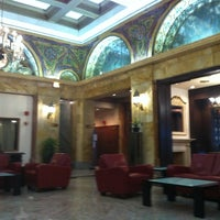 Photo taken at The Congress Plaza Hotel by Michael L. on 6/22/2013