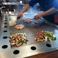 Photo taken at Kobe Japanese Steak House by Daniella R . on 1/6/2015