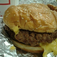 Photo taken at Five Guys by Vish S. on 12/7/2012