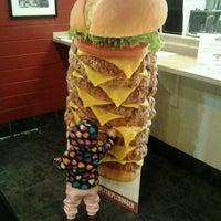 Photo taken at Jake's Wayback Burger by Vish S. on 11/21/2013