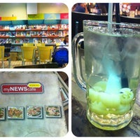 Photo taken at myNews Cafe by ELON . on 11/11/2012