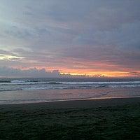 Photo taken at Pantai Barat Pangandaran by Ginayar H. on 5/18/2013
