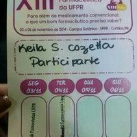 Photo taken at Auditório Azul UFPR by Keila C. on 11/4/2014