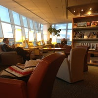 Photo taken at Air France Lounge by Brian S. on 3/4/2013
