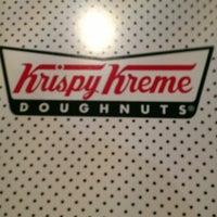 Photo taken at Krispy Kreme Doughnuts by Ashley C. on 1/19/2013