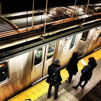 Photo taken at MTA Subway - 14th St/Union Square (4/5/6/L/N/Q/R/W) by Paul T. on 3/14/2013