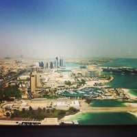 Photo taken at Jumeirah at Etihad Towers by Zico S. on 5/27/2013