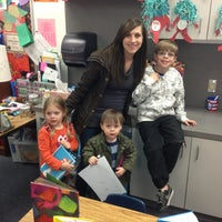 Photo taken at Walker Elementary by John B. on 3/6/2013