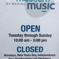 Photo taken at Museum of Making Music by Jon S. on 11/29/2016