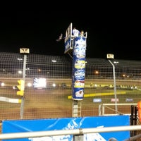 Photo taken at The Dirt Track at Charlotte Motor Speedway by Carly F. on 11/2/2012