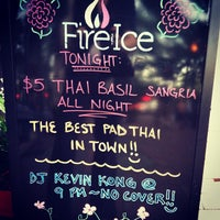 Photo taken at Fire and Ice Restaurant, Bar, & Lounge by Kevin K. on 6/22/2013