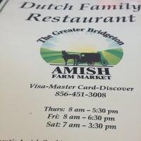 Photo taken at The Greater Bridgeton Amish Farm Market by Daniel V. on 7/19/2013