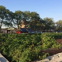 Photo taken at Red Hook Community Farm by hb8 on 7/16/2015