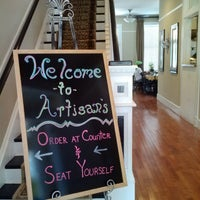 Photo taken at Artisans Bakery & Cafe by Kim on 6/20/2013