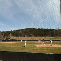 Photo taken at Shaute Field by Doug P. on 4/9/2013