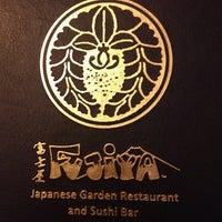 Photo taken at Fujiya Japanese Garden Restaurant by Curtis G. on 9/18/2013