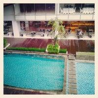 Photo taken at Mercure Hotel by Nenez S. on 2/10/2013