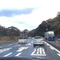 Photo taken at 潮見坂(国道42号線) by Junya K. on 12/9/2013
