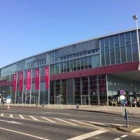 Photo taken at Deutsche Telekom Campus by Evgeny I. on 4/4/2017