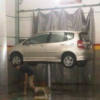 Photo taken at Pilar Tidar Car Wash by Dab P. on 10/23/2012