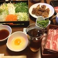 Photo taken at しゃぶしゃぶすきやき 清水 福山沖野上店 by まこ on 5/12/2013