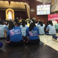 Photo taken at โรงเรียนเชียงคำวิทยาคม Chiang Kham Wittayakom School by Jiranan T. on 11/17/2016