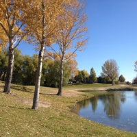 Photo taken at Pond At Briargate Business Campus by Aaron A. on 10/26/2013