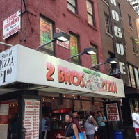 Photo taken at 2 Bros. Pizza by Yuskie M. on 7/5/2013