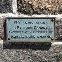 Photo taken at Église Notre-Dame-des-Neiges De Trois-Pistoles by Kiki d. on 9/4/2013