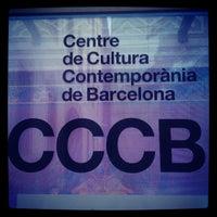 Photo taken at Centre de Cultura Contemporània de Barcelona (CCCB) by Mattia Z. on 11/1/2012