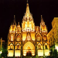 Photo taken at Cathedral of Saint Eulalia of Barcelona by Oh-Barcelona.com on 12/20/2012