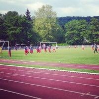 Photo taken at Terrain de Football/Gif-sur-Yvette by Gontran P. on 5/25/2013
