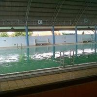 Photo taken at Kolam Renang Tirta Sari by septi g. on 11/4/2012