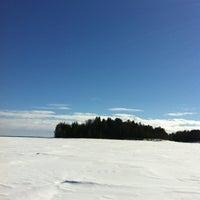 Photo taken at Oulujärvi by Tuula K. on 4/1/2013