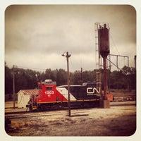 Photo taken at McComb Amtrak Station by Jeni L. on 10/17/2013