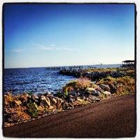 Photo taken at Lake Ponchartrain by Jeni L. on 5/28/2013