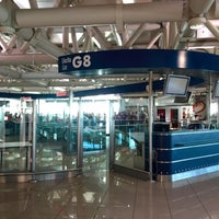 Photo taken at Gate G8 by Farzad on 10/18/2015