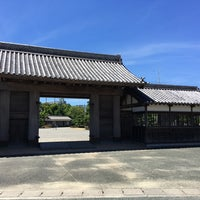 Photo taken at 鷲の門 by T on 8/14/2018