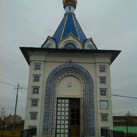 Photo taken at Ж/д станция Гжель by Vladimir K. on 10/5/2012