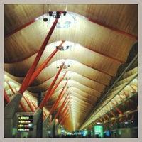Photo taken at Terminal 4 by Daniel C. on 1/11/2013