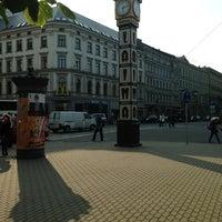 Photo taken at Laimas Pulkstenis   Laima clock by Kaspars (. on 7/26/2013