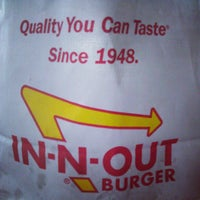 Photo taken at In-N-Out Burger by Andre M. on 1/23/2013