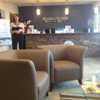 Photo taken at Hand & Stone by Constantine A. on 3/16/2013