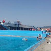 Photo taken at Motrat Binjake Swimming Pool by Egzon B. on 7/5/2014