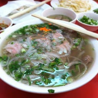 Photo taken at Pho VN One by Yuhan Z. on 5/11/2013