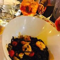 Photo taken at Pescerosso Restaurant by Fernando M. on 7/19/2017