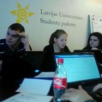 Photo taken at LU SP | Latvijas Universitātes Studentu padome by Andra on 10/5/2012