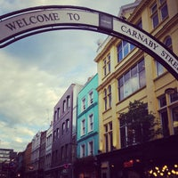 Photo taken at Carnaby Street by Mukul kumar S. on 8/7/2013