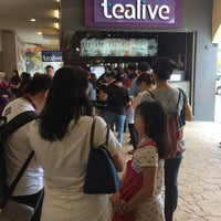 Photo taken at Tealive by Asyrizad F. on 2/18/2017