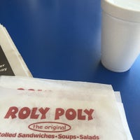 Photo taken at Roly Poly Sandwiches by 💋💋Ms. Pierce💜♊️ on 6/22/2016